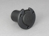 Recessed 12V Power Socket - Round