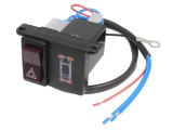 Illuminated Hazard Switch & Relay Unit