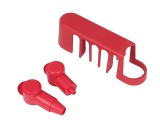 Insulating cover Kit For VTE 120A Tab Terminal Busbar - Red