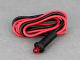 Warning Light, Red LED (Constant) - 12V