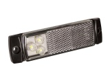 Low Profile Front Marker/Reflector Light (129 Series)