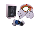 240V Mains Hook-Up Installation Kit For Caravans, Motorhomes & Boats