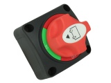 Marine Battery Isolator Switch With Removable Actuator - 2 Positions - 200A Continuous