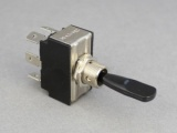 ON/OFF/ON Toggle Switch - 25A@12V (2 Pole)