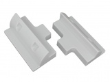 Set of 2 Plastic Side Mounting Brackets For Rigid Framed Solar Panels