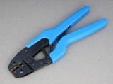 Insulated Terminal Ratchet Crimping Tool - Heavy Duty