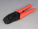 Insulated Terminal Ratchet Crimping Tool - Standard Duty