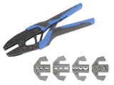 Ratchet Crimping Tool & Quick Change Die Set Bundle