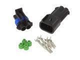 Superseal 2.8 Series Waterproof Connector Pair - 2 Way