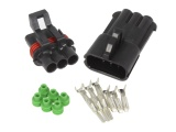 Superseal 2.8 Series Waterproof Connector Pair - 3 Way
