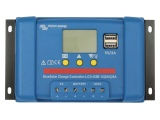 Victron Blue Solar 12/24V 20A PWM Charge Controller (LCD-USB)