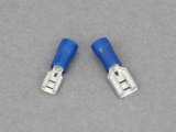 Female Blade Terminals - 1.5 - 2.5mm² Cable (Blue)