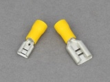 Female Blade Terminals - 3.0 - 6.0mm² Cable (Yellow)