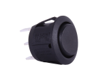 ON/OFF/ON Round Mini Rocker Switch  - 12V