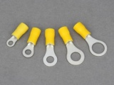 Ring Terminals - 3.0 - 6.0mm² Cable (Yellow)