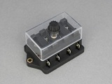 Standard Blade Fuse Box (Side Terminals) - 4 Way