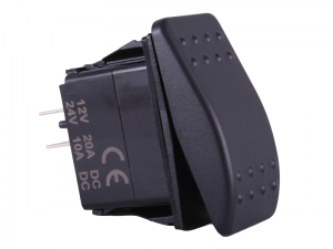 Waterproof ON/OFF Rectangular Marine Rocker Switch - 12V / 24V