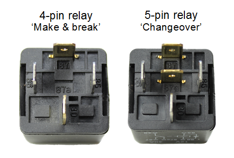 automotive relay guide 12 volt planetthe terminals on the outside of a 4 or 5 pin mini relay are marked with numbers as shown below
